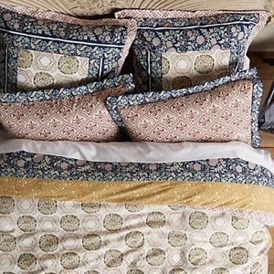 Meguro Anthropologie Pillow covers set of 2